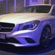Mercedes CLA launch 22