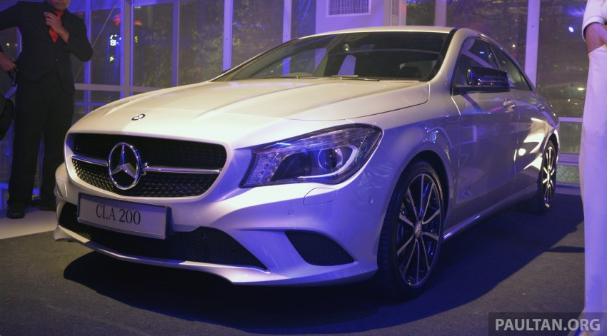 Mercedes-Benz CLA-Class launched in Malaysia – CLA 200, RM236k, CLA 45 AMG pricing to be confirmed Image #238322