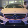 Mercedes CLA launch 3