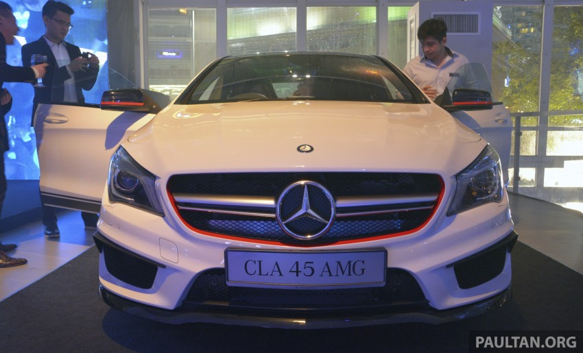 Mercedes-Benz CLA-Class launched in Malaysia – CLA 200, RM236k, CLA 45 AMG pricing to be confirmed Image #238270