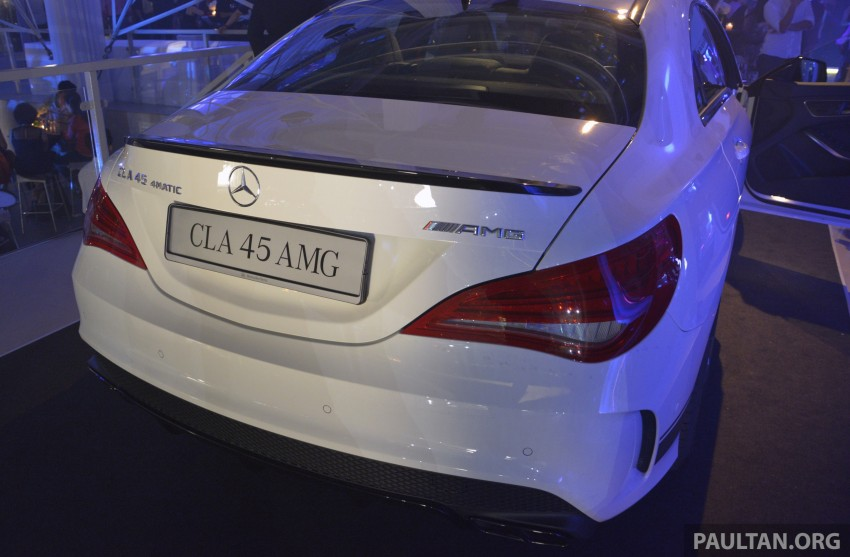 Mercedes-Benz CLA-Class launched in Malaysia – CLA 200, RM236k, CLA 45 AMG pricing to be confirmed Image #238271