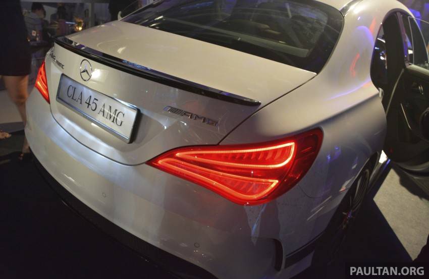 Mercedes-Benz CLA-Class launched in Malaysia – CLA 200, RM236k, CLA 45 AMG pricing to be confirmed Image #238272