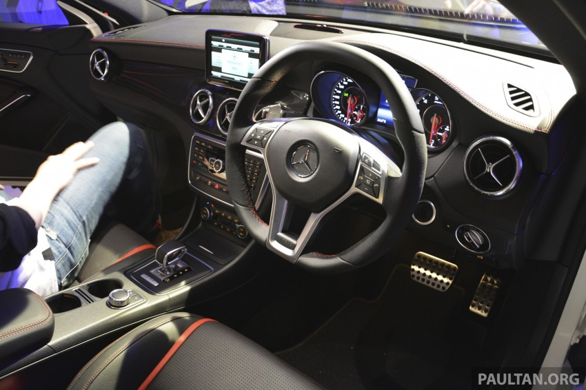Mercedes-Benz CLA-Class launched in Malaysia – CLA 200, RM236k, CLA 45 AMG pricing to be confirmed Image #238275