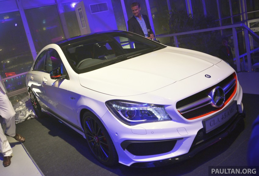 Mercedes-Benz CLA-Class launched in Malaysia – CLA 200, RM236k, CLA 45 AMG pricing to be confirmed Image #238276