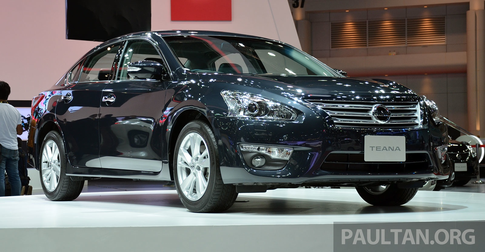 Bangkok 2014: Nissan Teana, coming soon to Malaysia Paul ...