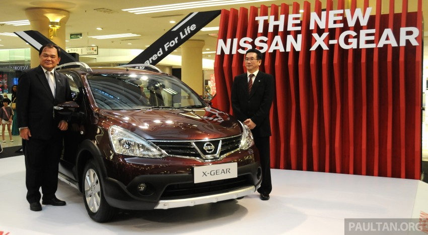Nissan X-Gear facelift launched – 1.6 auto, RM89,800 Image #237487