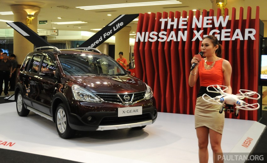 Nissan X-Gear facelift launched – 1.6 auto, RM89,800 Image #237509