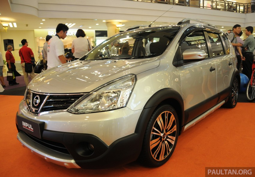 Nissan X-Gear facelift launched – 1.6 auto, RM89,800 Image #237510