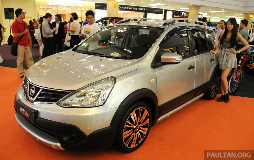 Nissan X-Gear facelift launched – 1.6 auto, RM89,800 Image #237515