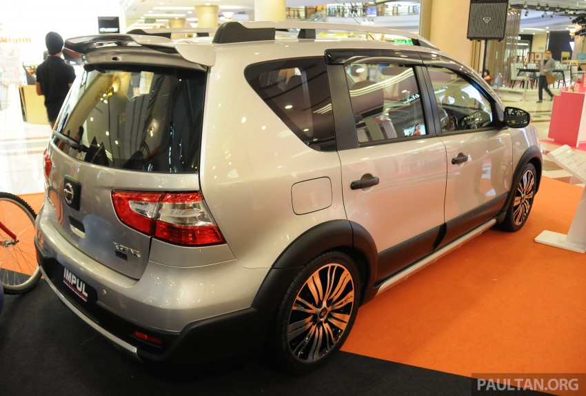 Nissan X-Gear facelift launched – 1.6 auto, RM89,800 Image #237526