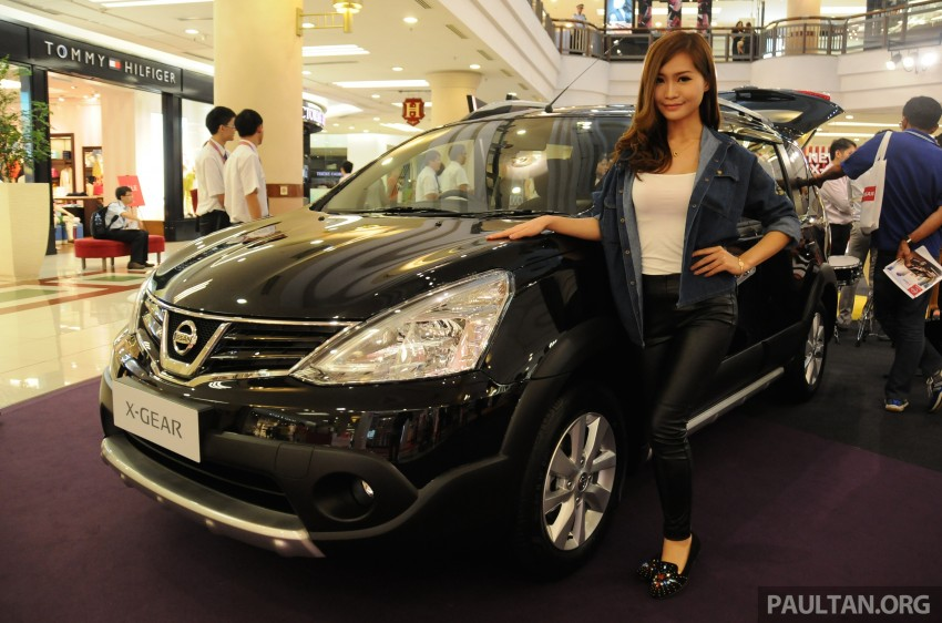 Nissan X-Gear facelift launched – 1.6 auto, RM89,800 Image #237529