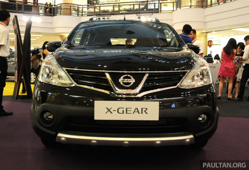 Nissan X-Gear facelift launched – 1.6 auto, RM89,800 Image #237530