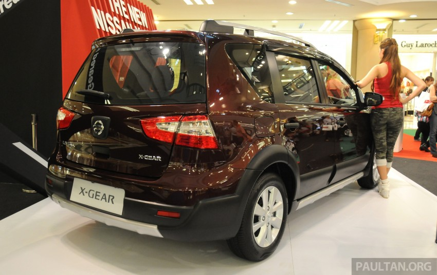 Nissan X-Gear facelift launched – 1.6 auto, RM89,800 Image #237536