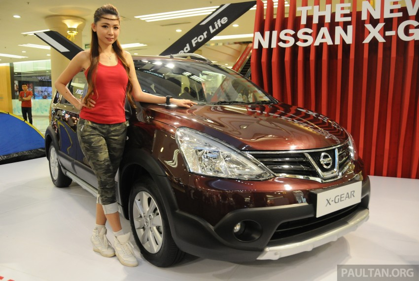 Nissan X-Gear facelift launched – 1.6 auto, RM89,800 Image #237537