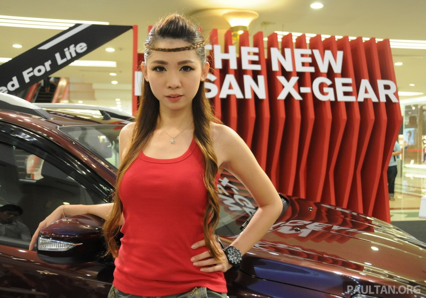 Nissan X-Gear facelift launched – 1.6 auto, RM89,800 Image #237538