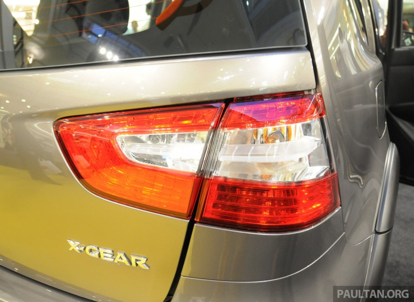 Nissan X-Gear facelift launched – 1.6 auto, RM89,800 Image #237539