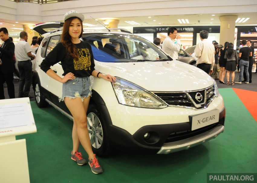 Nissan X-Gear facelift launched – 1.6 auto, RM89,800 Image #237540