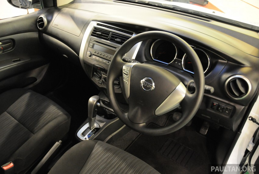 Nissan X-Gear facelift launched – 1.6 auto, RM89,800 Image #237542
