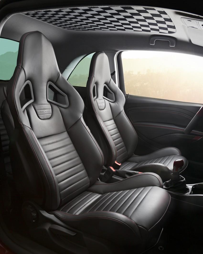 Opel Adam S – warm hatch breaks out in Geneva Image #234776