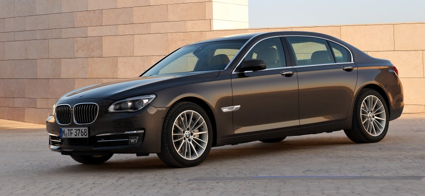 2014 BMW 7-Series LCI 730Li and 740Li updated in Malaysia with new driver assist features Image #236086