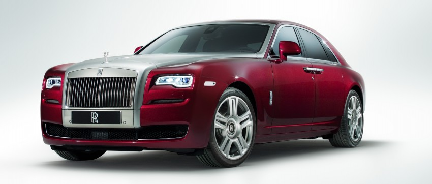 Rolls-Royce Ghost Series II – updated inside and out Image #232813