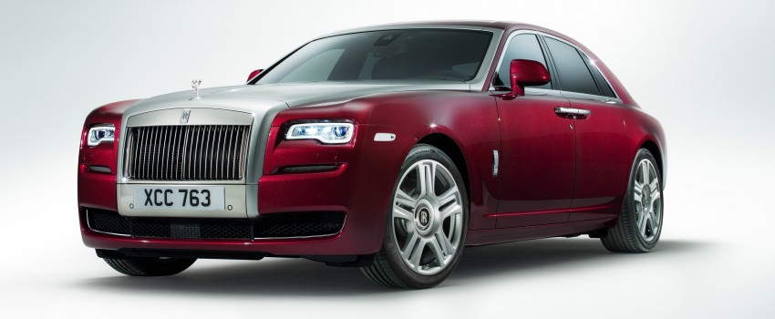 Rolls-Royce Ghost Series II – updated inside and out Image #232814