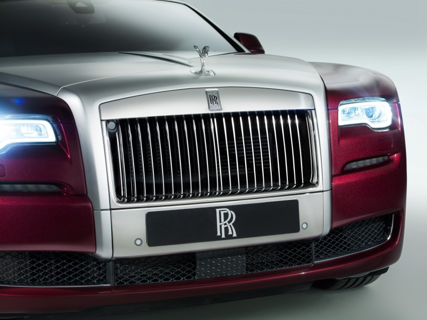 Rolls-Royce Ghost Series II – updated inside and out Image #232816