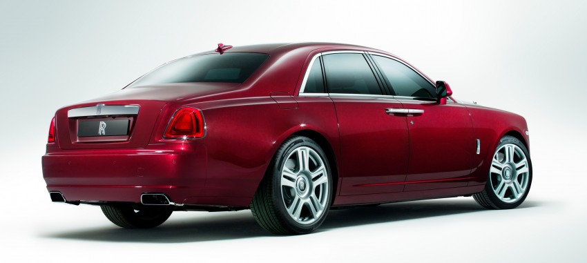 Rolls-Royce Ghost Series II – updated inside and out Image #232825