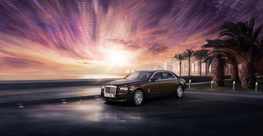 Rolls-Royce Ghost Series II – updated inside and out Image #232812