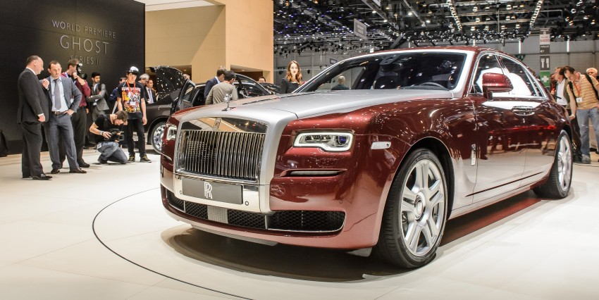 Rolls-Royce Ghost Series II – updated inside and out Image #232807