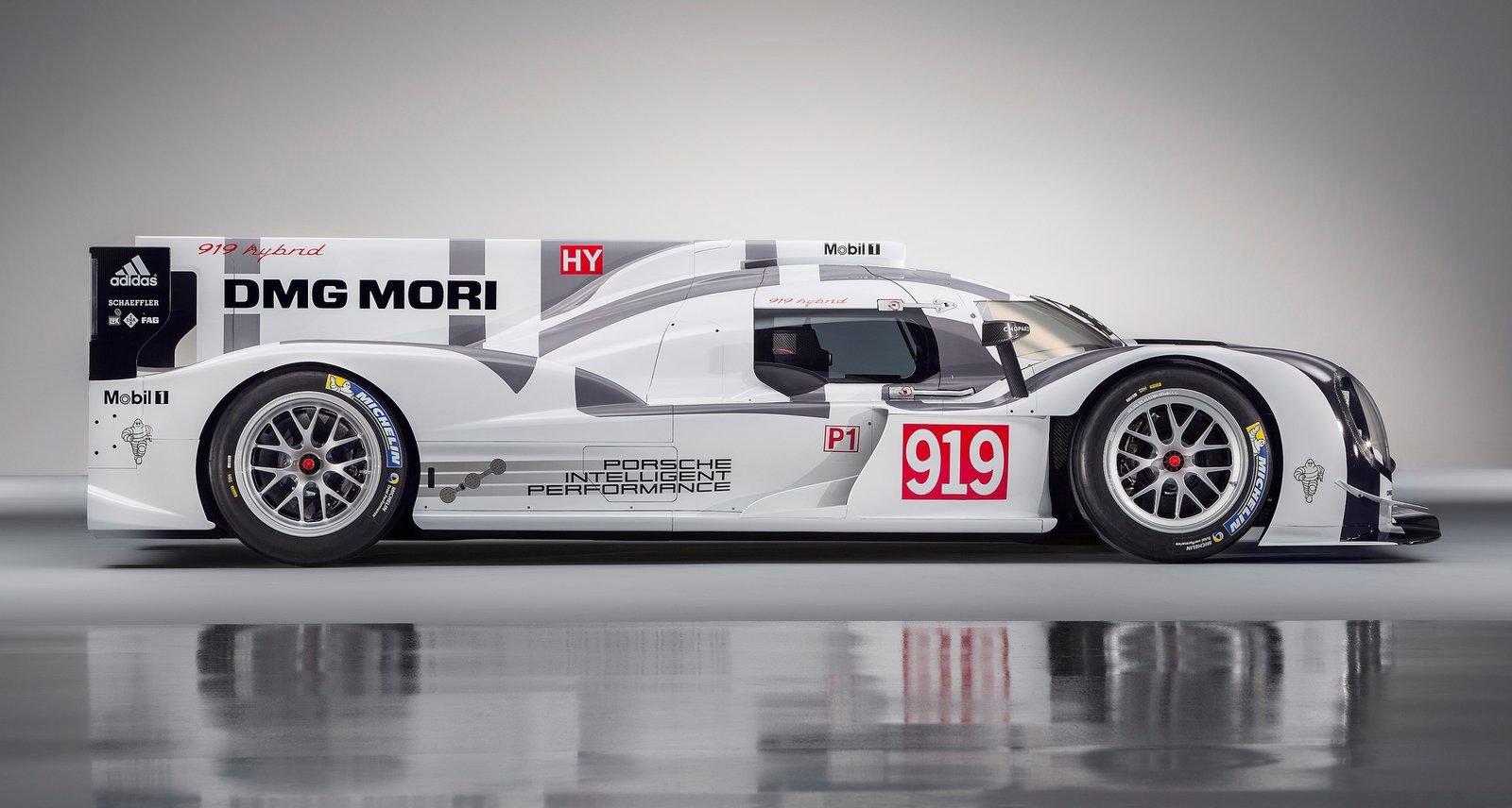 Porsche 919 Hybrid Lmp1 Prototype For Wec 2014 Image 234223