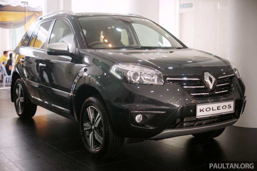 Renault Koleos – second facelift introduced, RM186k Image #234137