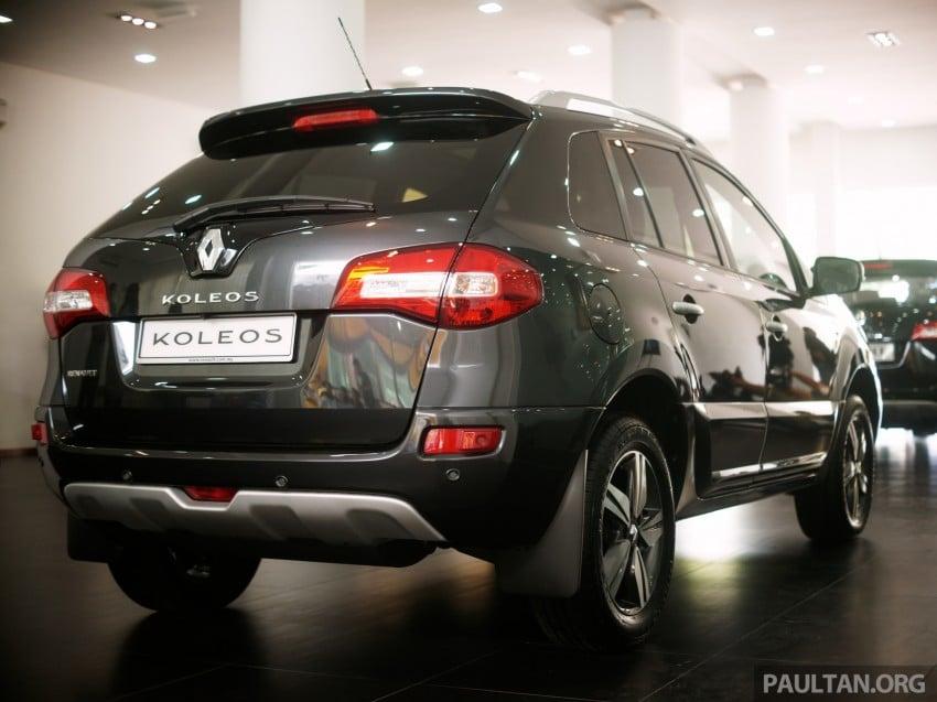 Renault Koleos – second facelift introduced, RM186k Image #234138