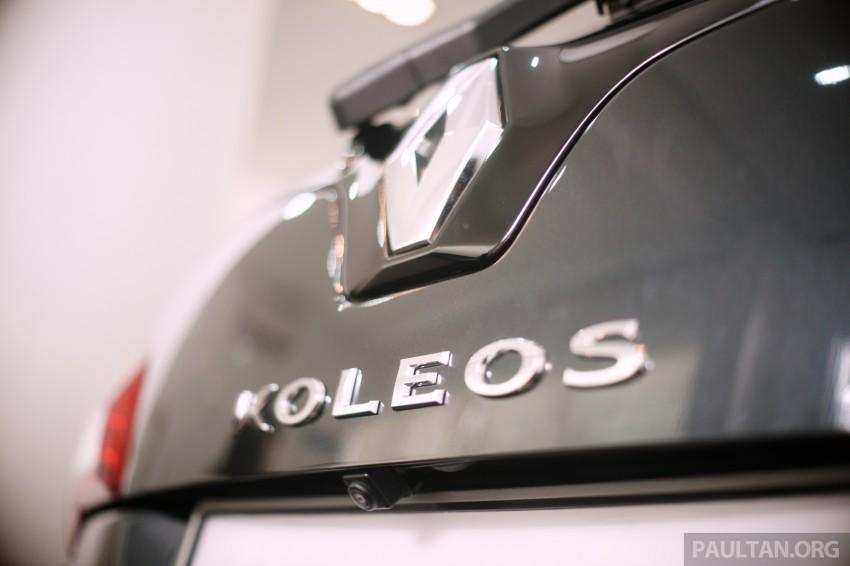 Renault Koleos – second facelift introduced, RM186k Image #234139
