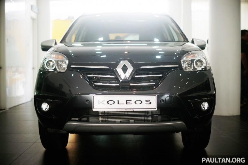 Renault Koleos – second facelift introduced, RM186k Image #234140