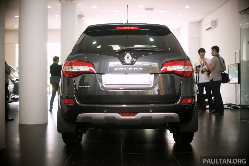 Renault Koleos – second facelift introduced, RM186k Image #234141