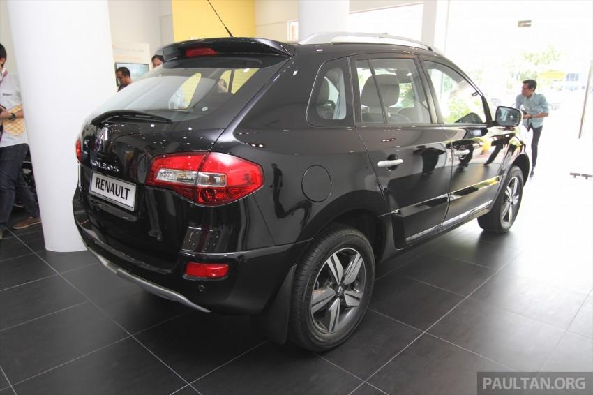 Renault Koleos – second facelift introduced, RM186k Image #234086