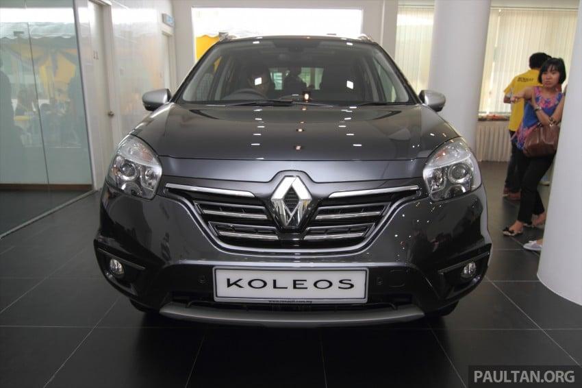 Renault Koleos – second facelift introduced, RM186k Image #234088