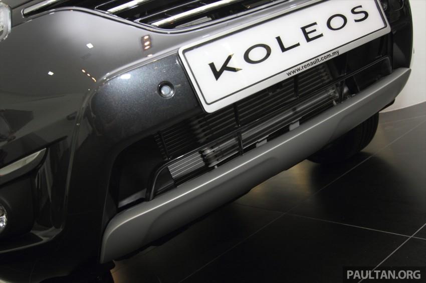 Renault Koleos – second facelift introduced, RM186k Image #234091