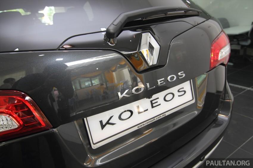 Renault Koleos – second facelift introduced, RM186k Image #234099