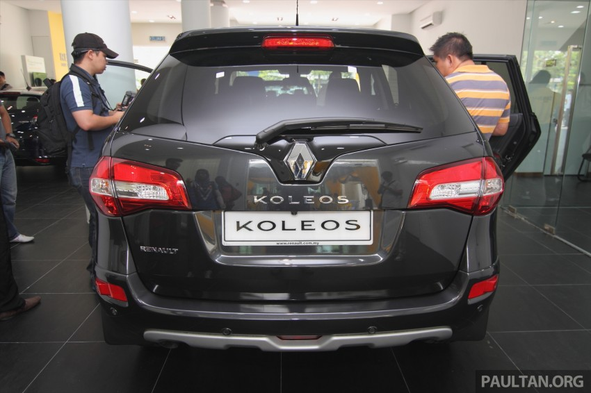 Renault Koleos – second facelift introduced, RM186k Image #234127
