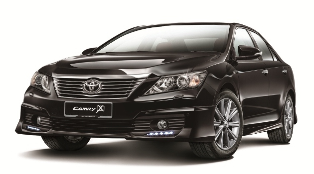 Toyota Camry 2.0 G X – full details and more pics released