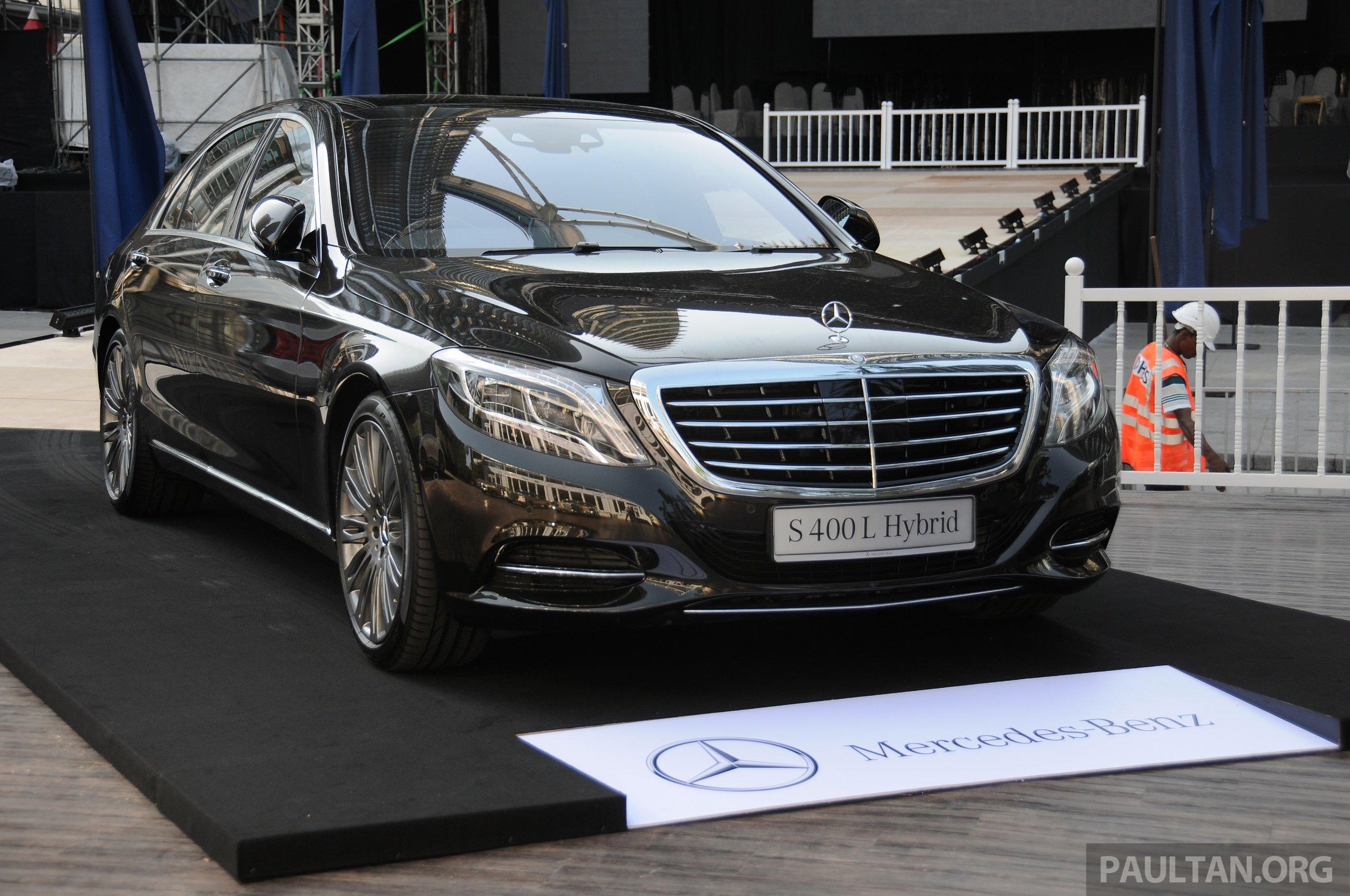 Locally assembled mercedes benz s 400 l hybrid gets full for Mercedes benz hybrid models
