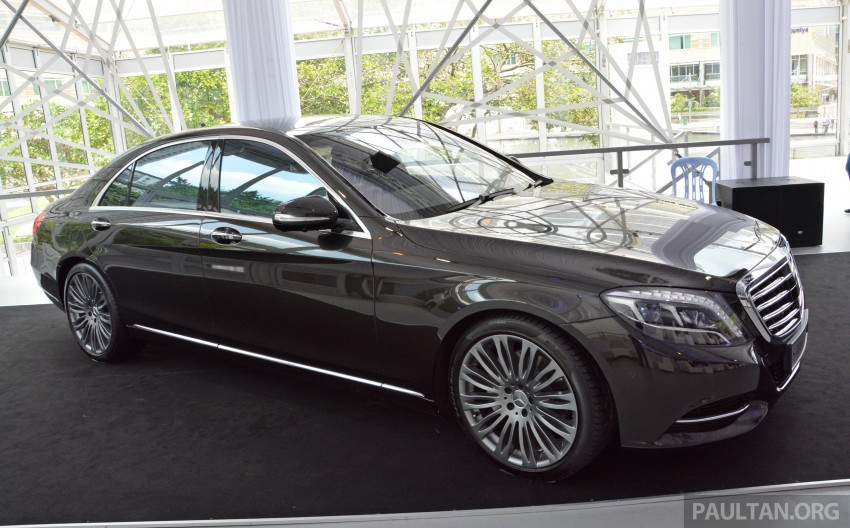 W222 Mercedes-Benz S-Class launched in Malaysia Image #236996