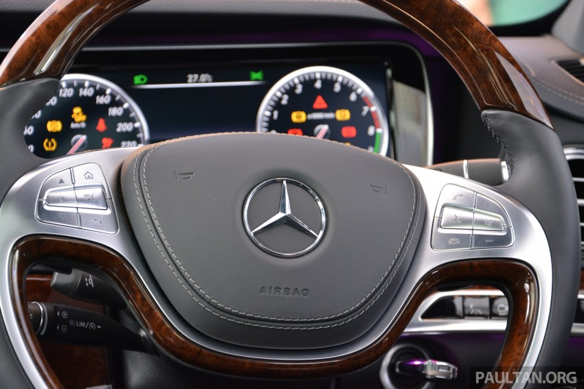 W222 Mercedes-Benz S-Class launched in Malaysia Image #237052