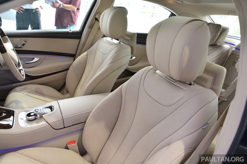 W222 Mercedes-Benz S-Class launched in Malaysia Image #237099