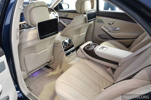W222 Mercedes Benz S 400 Hybrid 088