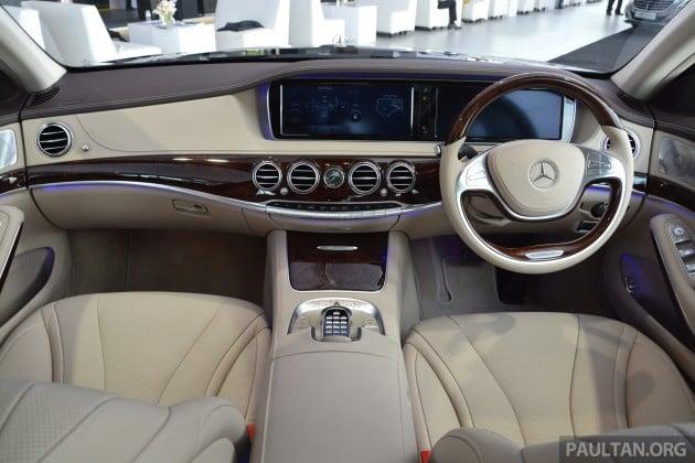 W222 Mercedes Benz S 400 Hybrid 090