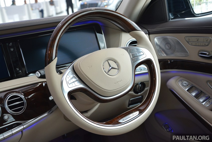 W222 Mercedes-Benz S-Class launched in Malaysia Image #237103