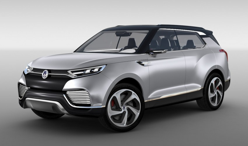 SsangYong XLV crossover concept gets Geneva debut Image #232670